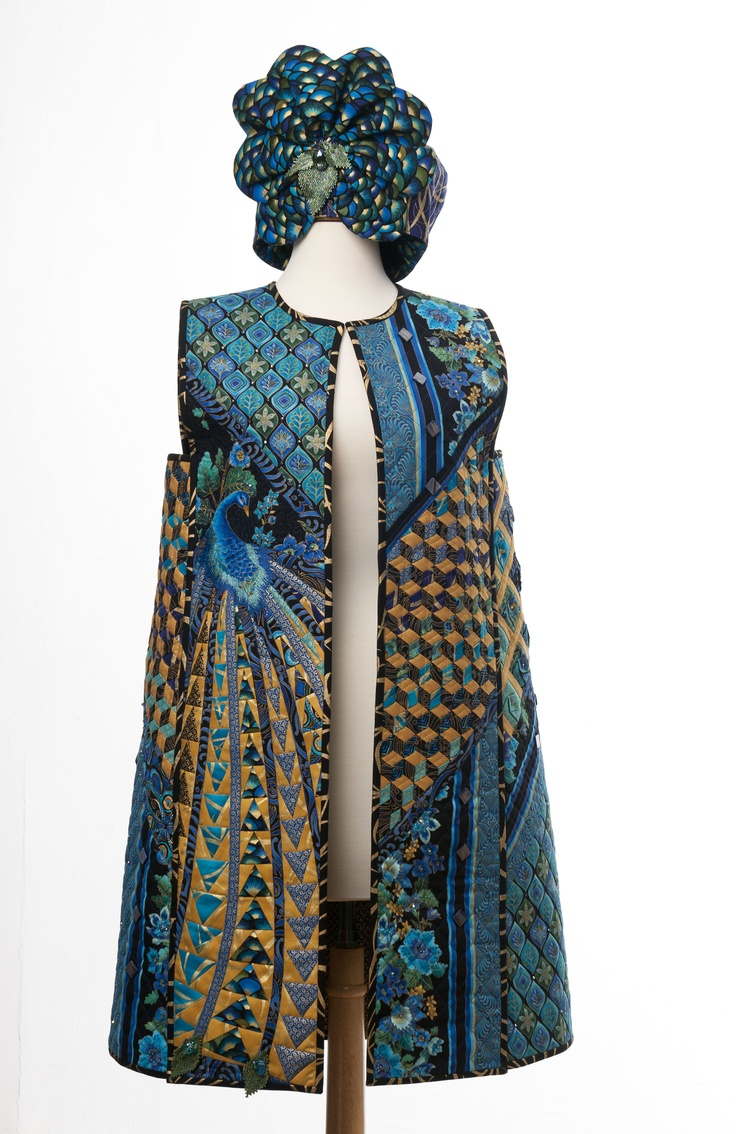 73 best wearable art images on Pinterest | Clothing, Jacket and ... : wearable quilt - Adamdwight.com