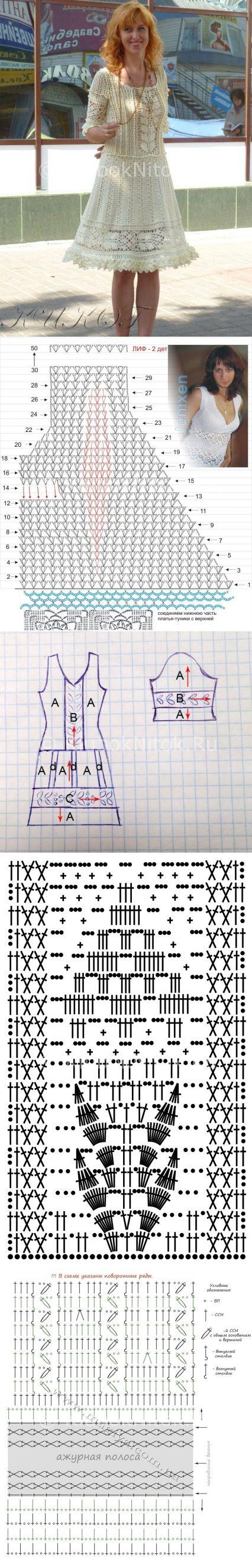 Платье «Шарлотта» от Ванессы Монторо | Вязание для женщин | Вязание спицами и…