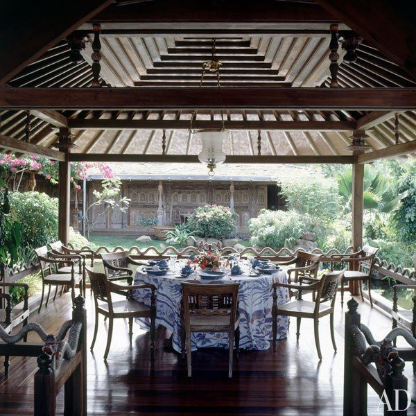 David Bowie's House on the Island of Mustique : Architectural Digest