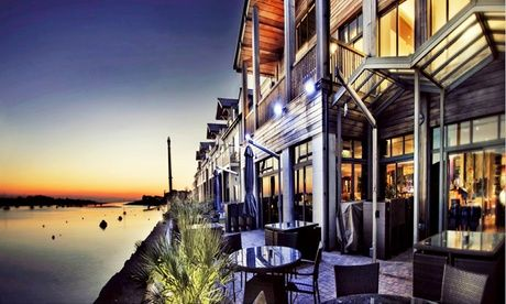 2017 UK to: Conwy: 1 or 2 Nights for Two with Breakfast and Option for Prosecco, Dinner and Massage at 4* The Quay Hotel and Spa UK 2017 Deal:  for just: £99.00