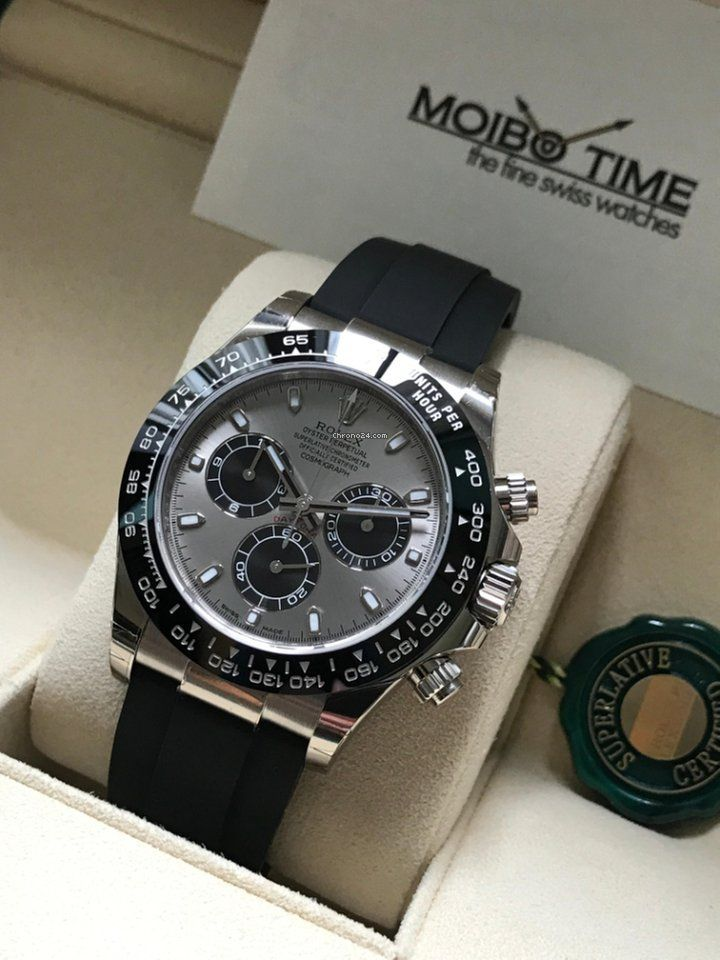 c7c57ad8fe4 Image result for Rolex Watches  116519LN stankof Daytona White Gold -  Oysterflex Strap