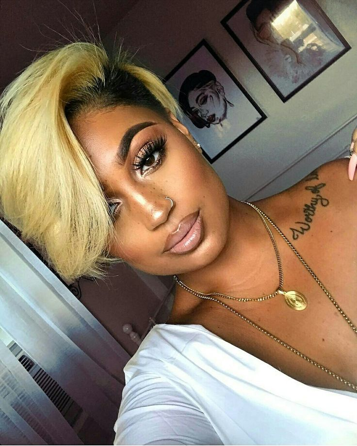 Nice blonde cut