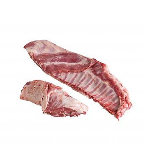 Faldas y Cuello de Cordero Lechal de Producción Ecológica (bandeja 0,5 kg. aprox.) #cordero