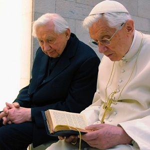 Pope and his brother