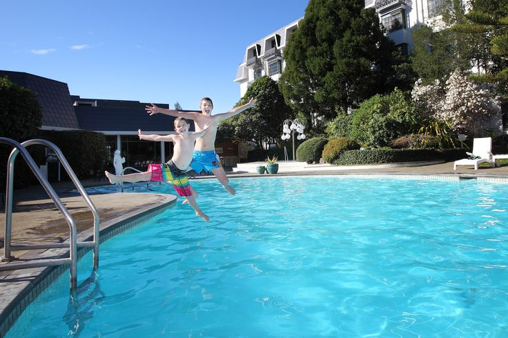 Treat the family to a stay at Distinction Rotorua Hotel - includes FREE use of the outdoor heated swimming pool.