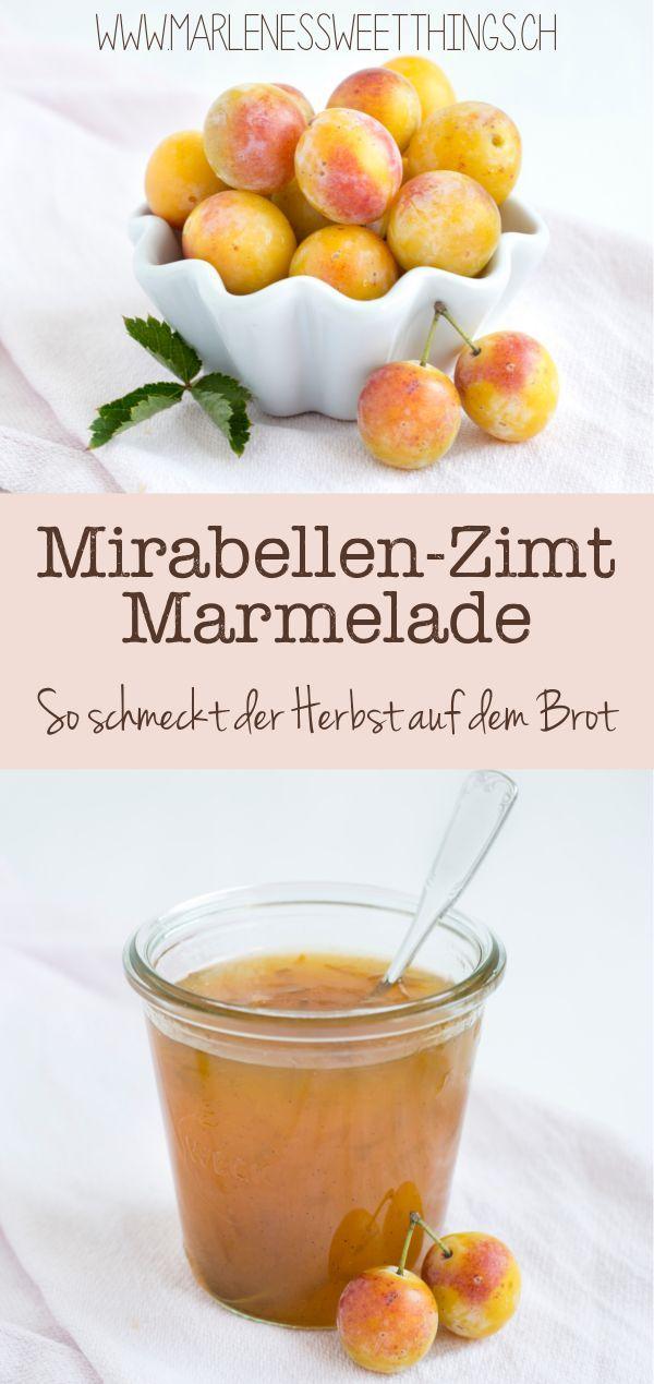 Mirabellen ist perfekt zum Marmelade einzukochen. Die kleine Zwetschgen konservi…