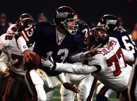 QB Danny Kanell led the #Giants to a division title in Fassel's first year, 1997. #NYG