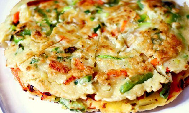 طريقة عمل بان كيك بالخضار سهل و لذيذ بالصور Popular Appetizers Cooking Vegetable Pancakes