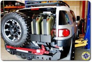metal tech 4x4 red eye bumper toyota fj cruiser
