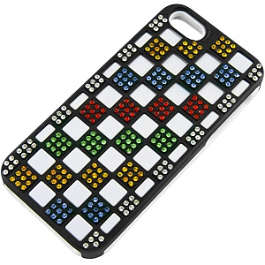 Dual Layer #Diamond Case for Apple #iPhone 5, White/Black $9.99 From #DayDeal: Iphone 5S, Apple Iphone 5, Apples Iphone 5