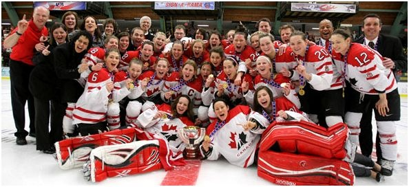 Team Canada brings home the GOLD
