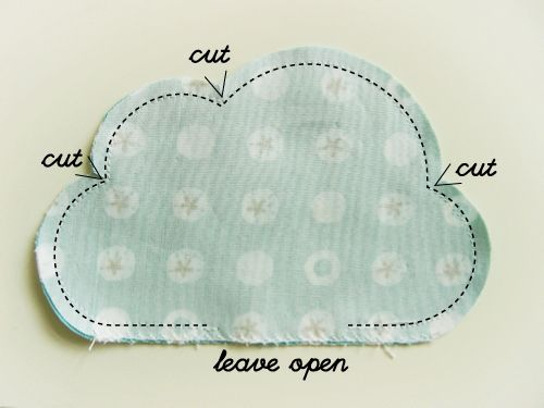 Revoluz Zzionary Cute Clouds For Your Flower Bouquet ∙ How To by Suse RevoluzZza on Cut Out + Keep