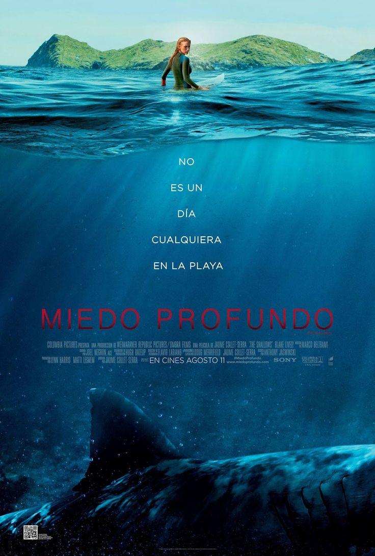 """SONY PICTURES nos presenta una película donde uno de los seres más temidos de los mares, el tiburón, que provocará: """"Miedo profundo""""."""