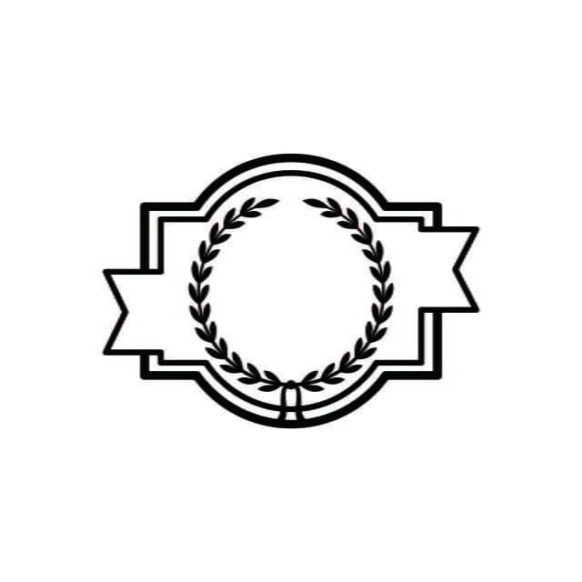 Vintage Retro Kosong Label Logo Di 2020 Desain Logo Desain Ide
