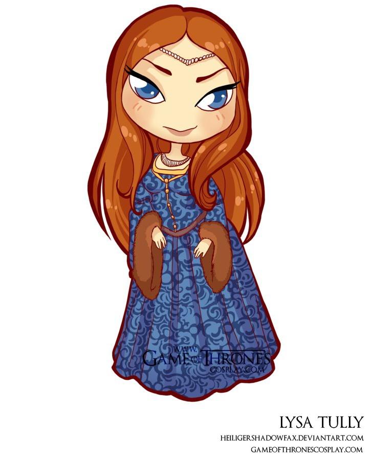 Lysa Tully // Game of Thrones cosplay group http://www.gameofthronescosplay.com | by Sara Manca http://heiligershadowfax.deviantart.com/