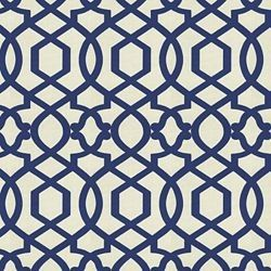 Geometric pattern-I'd prefer in gray, coral, orange, or yellow. Stencil or headboard fabric.
