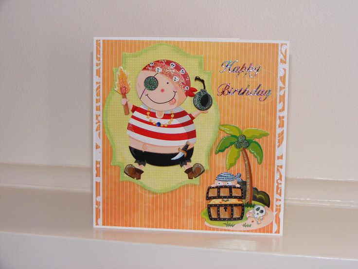 Ahh-hoy! Pirate Card