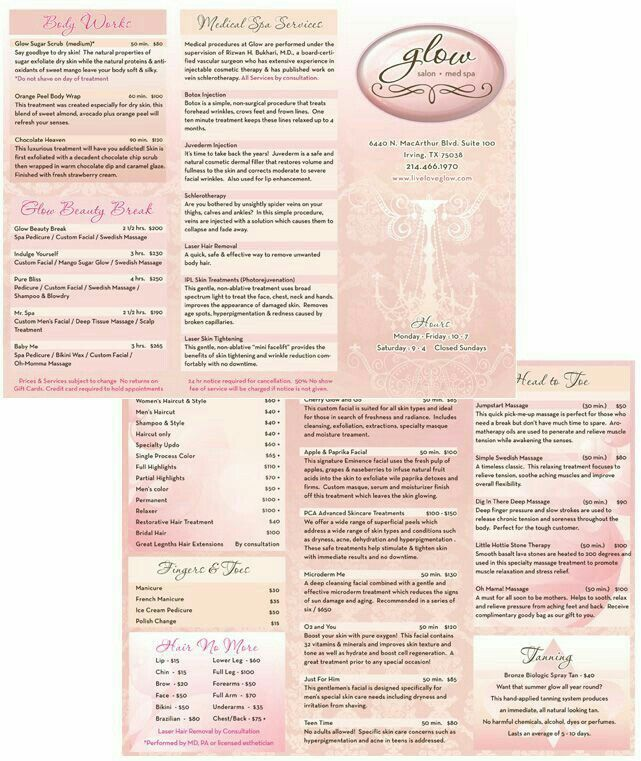 Pin by Jackie Blanco on Labels   Medical spa, Spa services