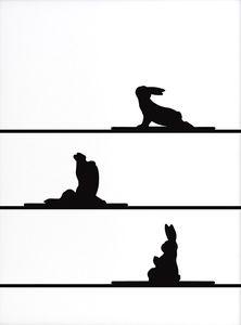 Yoga Rabbit | Sanders of Oxford