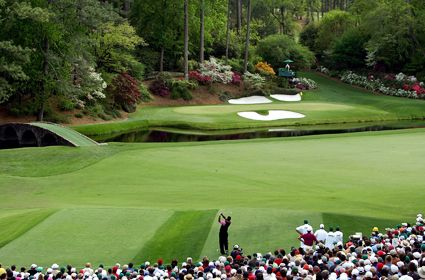 Augusta National Golf Course, Ga.  home of the Master's Tournament