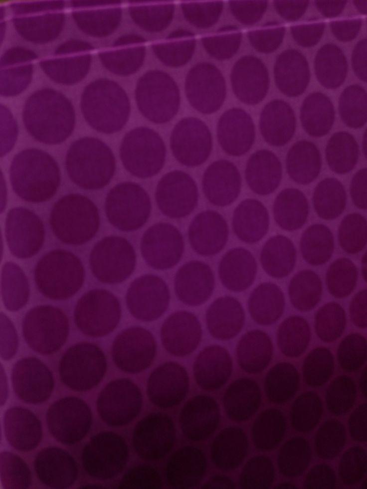 Burgundy dots