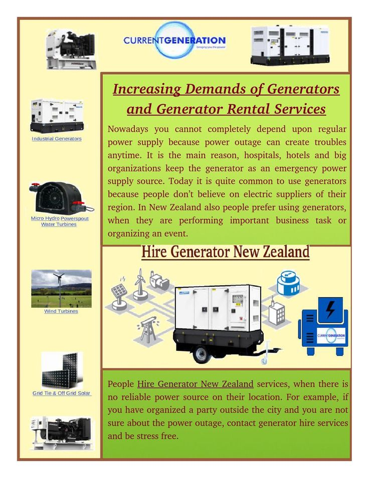 Finding a reliable Hire Generator New Zealand service is quite easy, but you must follow a right way for it. You can ask your friends or colleagues for recommendations, but they may not refer you to a reliable service provider.