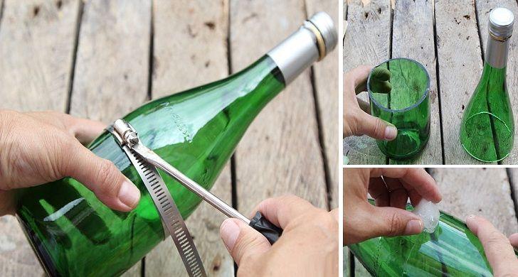Reciclar las botellas de vidrio de manera creativa es una manera de ahorrar dinero y al mismo tiempo poner a prueba la imaginación. Si tu cubo de basura está lleno de botellas de vidrio, de vino o cerveza o cualquier otra bebida, antes de deshacerte por completo tal vez deberías echar un vistazo a estas …