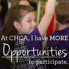 Engage personally with our faculty, staff & students as you walk the halls, experience demo lessons & learn what makes CHCA so special. We welcome families to gain info about our Early Childhood Program (Ages 2-5), our Lower School Grades K-6, as well as our Upper School Grades 7-12. CHCA graduates students fully prepared to succeed in college & beyond! Open houses are hosted simultaneously at BOTH our Downtown--140 West 9th Street (PreK-Grade 6) & Symmes Twnp (PreK-Grade 12) campuses…