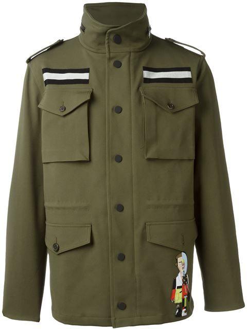 Купить Ports 1961 куртка в стиле милитари  в Stefania Mode from the world's best…
