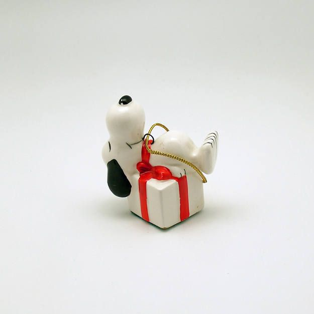Vintage Christmas Ornament Snoopy Christmas Decoration by efinegifts on Etsy