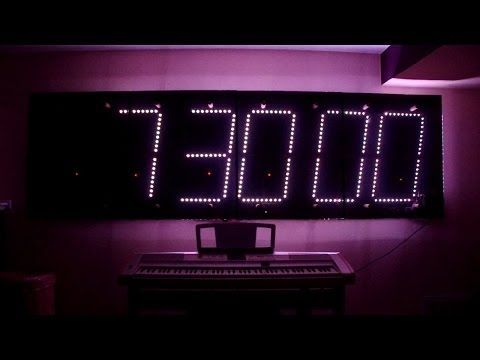 20 Best Images About Large Digital Wall Clock On Pinterest