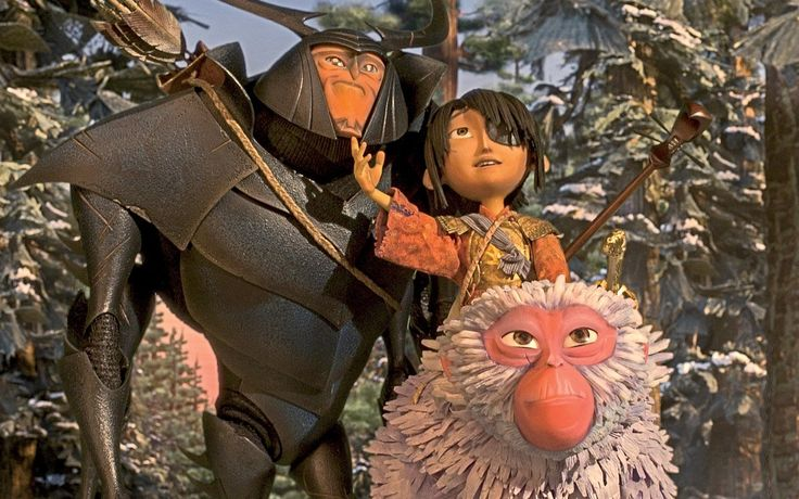 In their new movie, the lushly animated Kubo and the Two Strings, opening August…