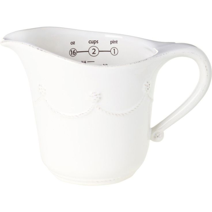 Juliska Berry and Thread Measuring Cup Whitewash