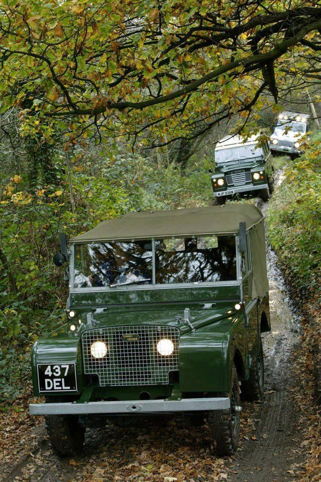 Beautiful Land Rover trio http://www.trustedcarbuyers.com/manufacturer/sell-my-land-rover #landrover #classic #cars #auto #outdoors