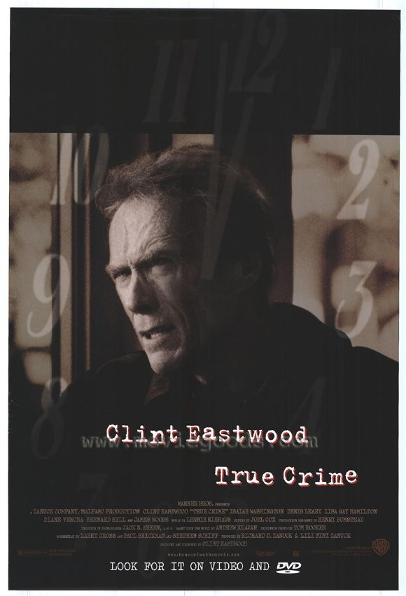 Título Original: True Crime (Crimen Verdadero) Título en Argentina: Ejecución Inminente #Ejecución inminente #Crimen verdadero #True Crime #argentina