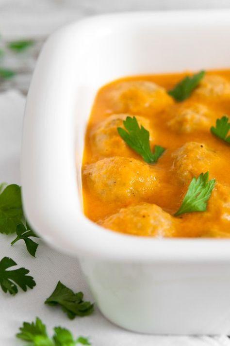 Albondigas en salsa de verduras