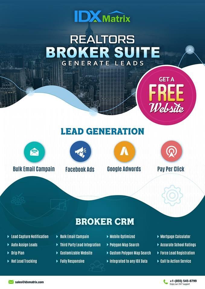 Best Crm For Real Estate Real Estate Lead Generation Idx