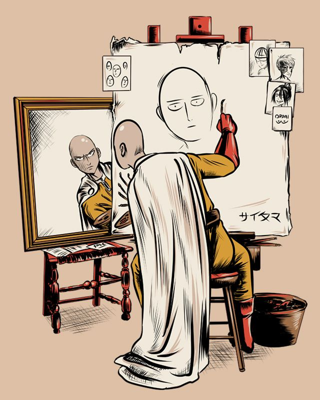 Triple Saitama by Fishmas on DeviantArt