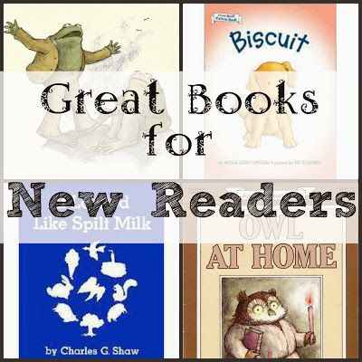 Great Books for Kids Just Learning to Read!