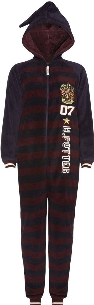 PRIMARK Ladies HARRY POTTER ONESIE All in One Pajamas 6 - 20 UK sizes