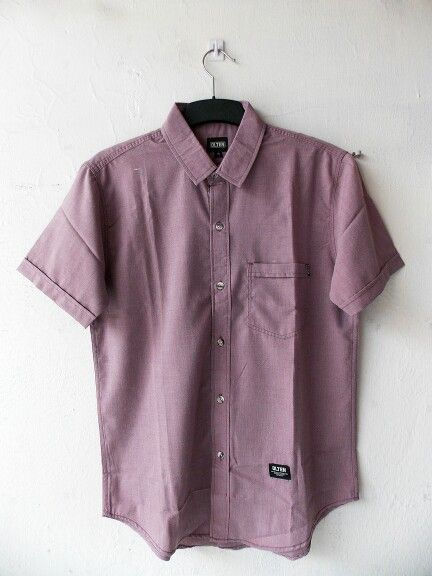 Olten soft red shirt - Rp175.000