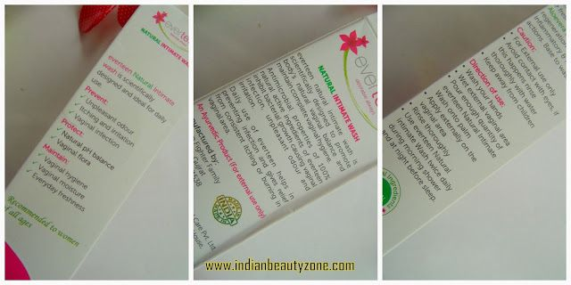 I am using it regularly and feel very safe for intimate parts. This is SLS and paraben free and very mild to use it for everyday. This Everteen Natural Intimate Wash lathers well and keeps the delicate skin smooth and safe. I never felt any irritation or other things and I feel very safe by using this product on this delicate part.