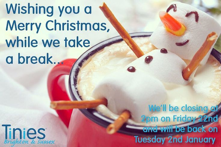 Were out of the office from 2.30 today and will be back on Tuesday 2nd January. We wish you all a very Merry Christmas and a Happy New Year. See you in 2018! The Tinies Team x #happychristmas #happyholidays #newyear #2017 #2018 #brighton #hove #tinies #office #childcare #nanny #nursery #temp #newjobnewyou #recruiter #friyay #friday #3sleeps