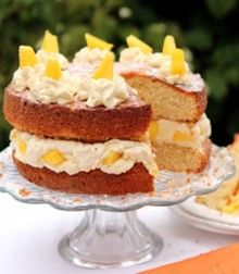 Shelina Permalloos Mango Cream Cake
