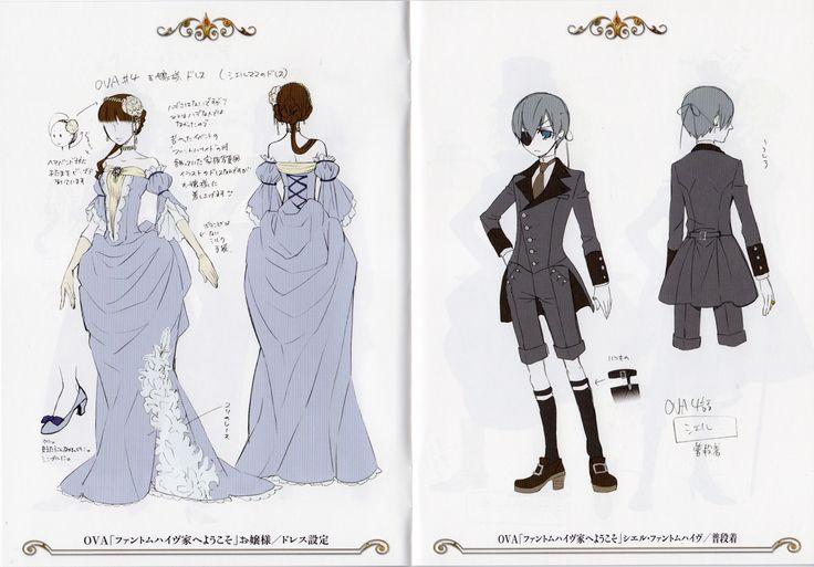 "Ciel Phantomhive + ""Interactive"" Mystery Character - OVA"