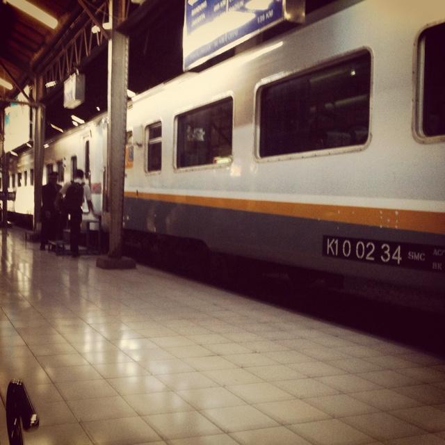 Argo anggrek will be goes to jakarta
