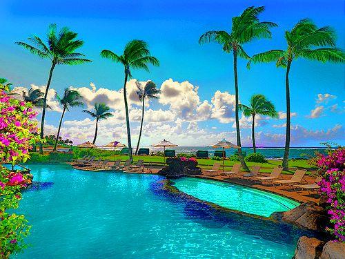 Sheraton Kauai Resort in Koloa, Kauai, Hawaii
