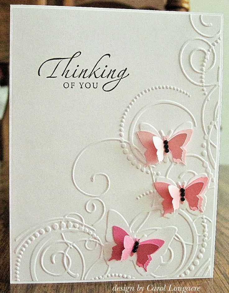 Darice Butterfly Corner Embossing Folder Handmade Cards