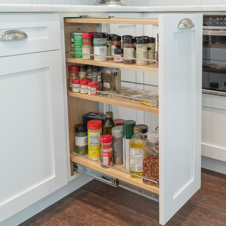 Slide Out Spice Racks For Kitchen Cabinets: 28 Best Traditional Style Cabinets Images On Pinterest