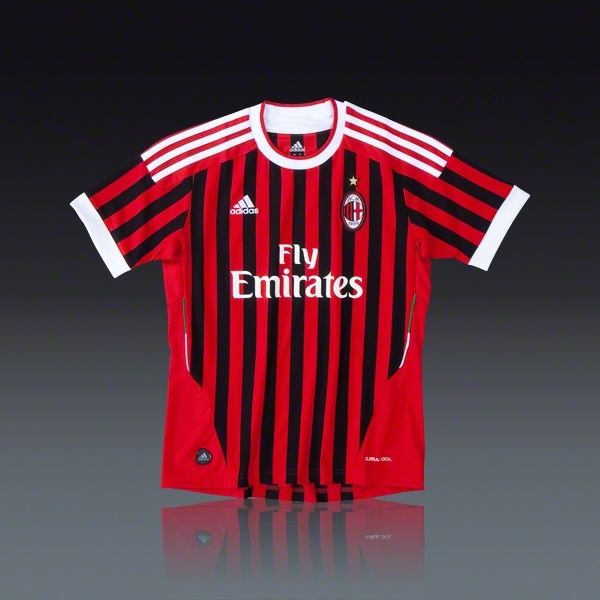 Adidas AC Milan Youth Home Jersey